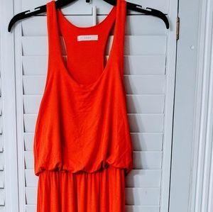Orange maxi ☀️dress